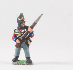 PNB2 British 1814-15: Grenadier or Light Coy with Musket 45 degrees