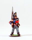 PNB2a British 1814-15: Grenadier or Light Coy with Musket upright