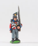 PNB2c British 1814-15: Grenadier or Light Coy at attention