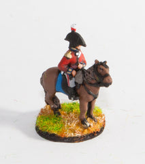 PNB32 British Cavalry: Command: Mounted Infantry Officer in Bicorne