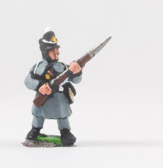 PNB4 British 1814-15: Line or Flank Coy in Greatcoat at the ready