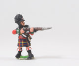 PNB6a British 1814-15: Highlander firing