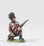 PNB7 British 1814-15: Highlander kneeling / ready