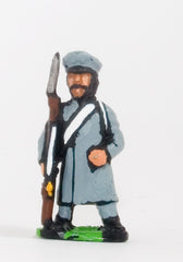 PNR26 Russian: Militia in Greatcoat & Cap with Musket