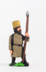 PNR29 Russian: Militia in Greatcoat & Felt Hat with Pike