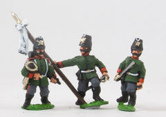 PO10b Prussian: Jager: Command: Officers & Hornists