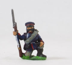 PO20 Prussian: Saxon Infantry: Kneeling, in Caps