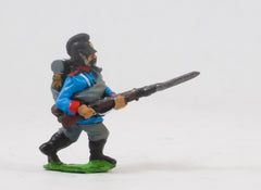 PO22 Prussian: Bavarian Line Infantry or Jager: Advancing with Rifle forward