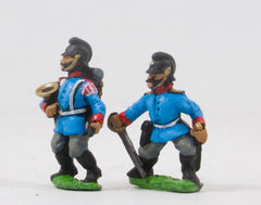 PO26c Prussian: Bavarian Line Infantry or Jager: Command: Officers & Hornists