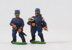 PO30c Prussian: Wurtenberg Line Infantry or Jager: Command: Officers & Hornists