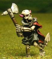 Q124 Skeleton: attacking with Axe