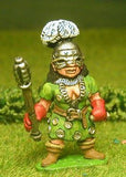 Q22 Amazon Warriors: Female Guardian in Helmet with Shield and Weapon