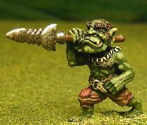 Q36 Orc: with Barbed Spear