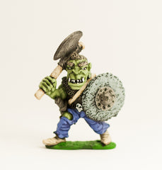 Q45 Orc: with Large Axe and Shield