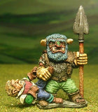 Q52 Small Giant with Spear and captive Elf