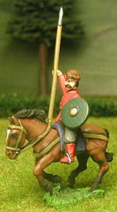 RC11 Cossack: Cavalry with Lance and Shield (separate cased bow supplied), head variants