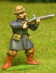 RC3 Cossack: Arquebusier, assorted firing / loading