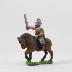 REN104 Renaissance: Medium Cavalry in Morion with two Pistols (Caballo Coroza)
