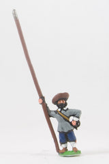 REN23 ECW: Medium Pikemen in Hats, pike upright