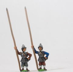 REN29 ECW: Heavy Pikemen in Helmets, pike upright