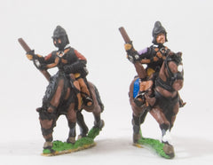 REN43 ECW: Heavy Cavalry in Cuirass & Pot Helmet, with Carbine