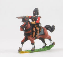 REN44 ECW: Heavy Cavalry in Cuirass & Pot Helmet, firing Pistol forward