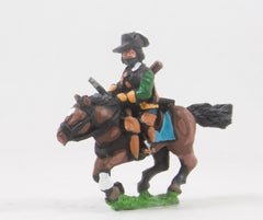 REN51 ECW: Heavy Cavalry in Cuirass & Hat with drawn Sword