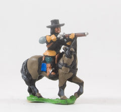 REN62 ECW: Mounted Arquebusier in Cuirass and Hat, firing