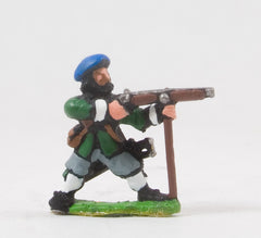 REN77 ECW: Scots Covenanters: Musketeers firing