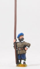 REN80 ECW: Scots Covenanters: Pikeman with pike upright, halted