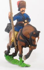 RNAP60 Cossack: Trooper with Lance upright in Fur Hat & Caftan