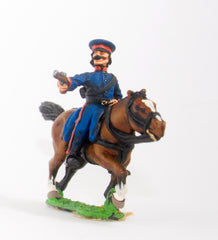 RNAP65 Cossack: Officer with Pistol in Short Jacket & Cap