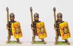 RO28 Early Imperial Roman: Assorted Auxiliary Light Heavy Infantry, LTS & shield