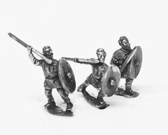 RO38 Middle Imperial Roman: Legionary Lanciarii with javelin & shield