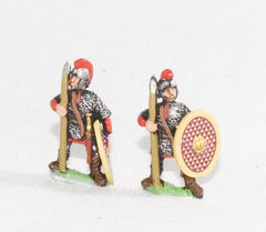RO51a Late Imperial Roman: Legionary in mail