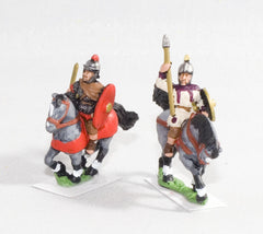 RO50 Late Imperial Roman: Light cavalry with javelin & shield