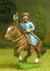 RT3 Tartar: Horse Archer with Spear, assorted heads