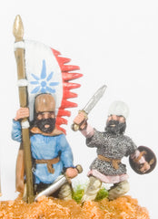 SA8 Sassanid Persian: Command: Foot Officers & Standard Bearers