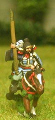SAM14 Samurai: Mounted Bodyguard with Naginata