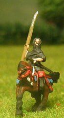 SAM18 Samurai: Mounted Monks with Naginata