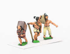 SAMXX Samurai: Assorted peasants with mixed loads