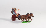 SIA1 Scots Irish: Two horse Chariot with driver & General