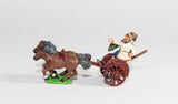 SIA2 Scots Irish: Two horse Chariot with javelinman and driver