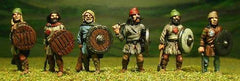 SK7 Anglo Saxon: Medium infantry with assorted weapons (Great Fyrd)