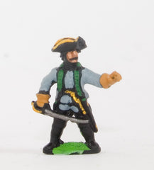 SYA12 Seven Years War Austrian: Command: Chasseur/Jager Officers