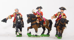 SYBR15 Seven Years War British: Command: Mounted General & two Staff Officers