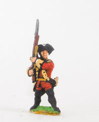 SYBR2 Seven Years War British: Musketeer, 'present arms' pose