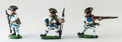 SYF1a Seven Years War French: Fusiliers, loading/firing, assorted poses