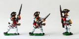 SYF1b Seven Years War French: Fusiliers, at the ready, assorted poses