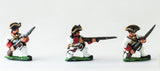 SYF1c Seven Years War French: Fusiliers, kneeling, assorted poses